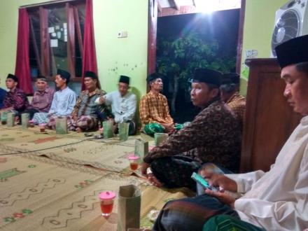 Mujahadah Malam jumat Pahing Di Dusun Nglorong