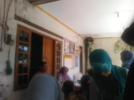 Kegiatan Posyandu Dusun Grudo