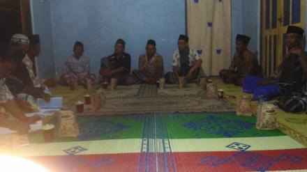 Pertemuan RT Dusun Krapyak Kulon