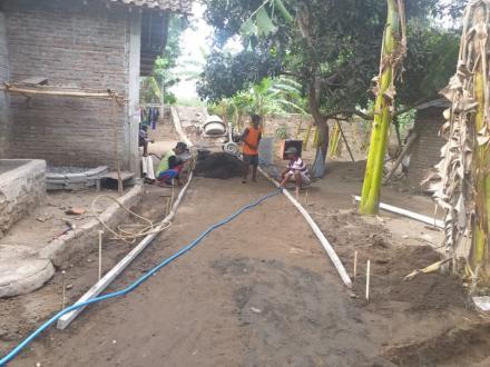 Corblok Dusun Krapyak wetan