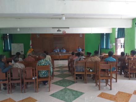 Pertemuan Kelompok Tani Desa Panjangrejo