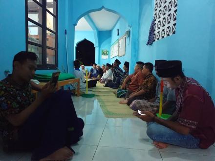 Rapat Persiapan Pengajian Di Dusun Panjang