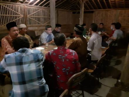 Pertemuan BPD dengan Pemerintah Desa