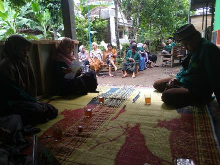 Sosialisasi Pengelolaan Sampah di Dusun Soronanggan