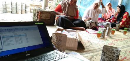 Pertemuan PKH di Krapyak wetan