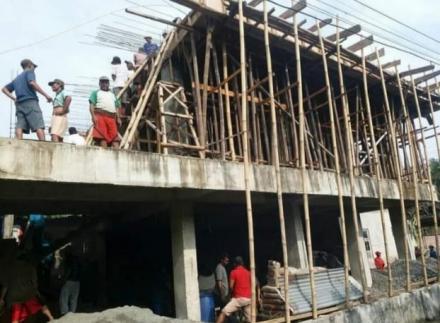 Kelanjutan Pembangunan Gedung TPQ Tunas Islam