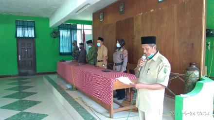 Halal bihalal Keluarga Besar Pamong Kalurahan Panjangrejo