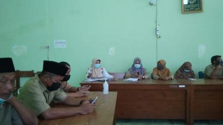 Rapat Koordinasi Pamong Kalurahan dan linmas kalurahan