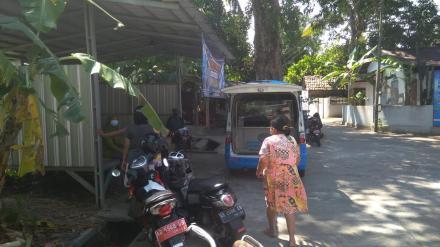 Pembayaran Pajak di Dusun Jamprit