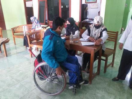 Paket Sembako Bagi Penyandang Disabilitas dan ODGJ