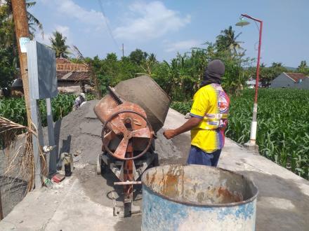 Peningkatan Rehabilitasi Daerah Irigasi Canden Kanan