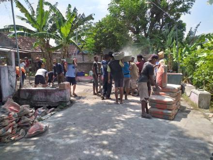 Cor Blok Dusun Grudo
