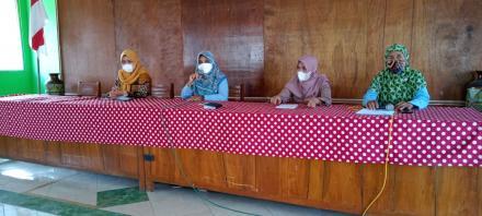 Pertemuan Dharma wanita Kalurahan Panjangrejo