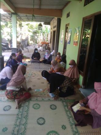 Pertemuan PKK Dusun Badan